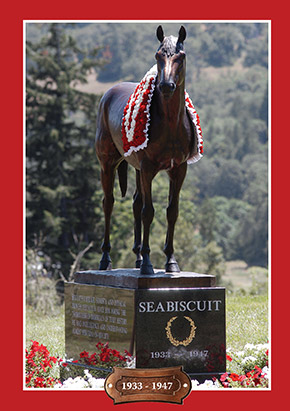 Seabiscuit Gravesite The Home Of Seabiscuit